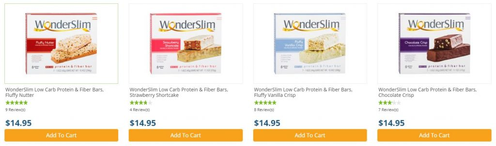 Protein and Fiber Bars