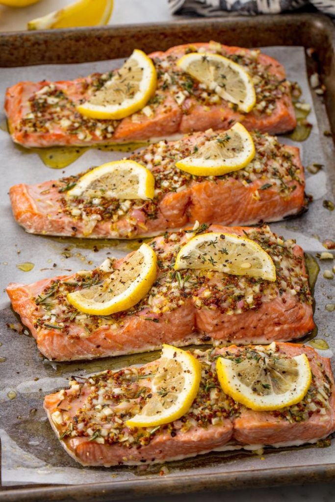 Perfect Broiled Salmon